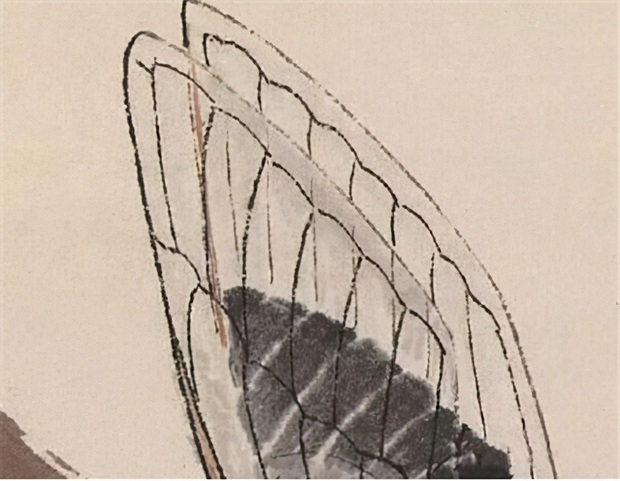 """Bức tranh con ve sầu đơn giản bán được gần 3.000 tỷ đồng, chuyên gia lên tiếng: """"Phóng to 20 lần lên xem sẽ biết như thế còn rẻ"""" - Ảnh 3."""
