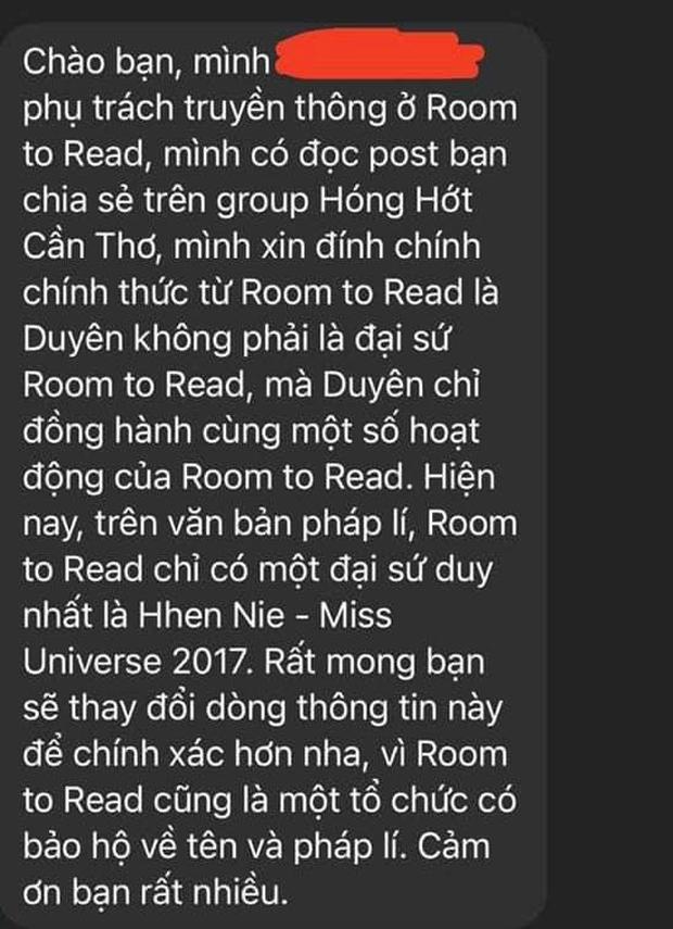 Kim Duyên tiếp tục vướng vào drama nhận vơ làm đại sứ đồng hành, lỗi là do ê-kíp Miss Universe Vietnam? - Ảnh 2.