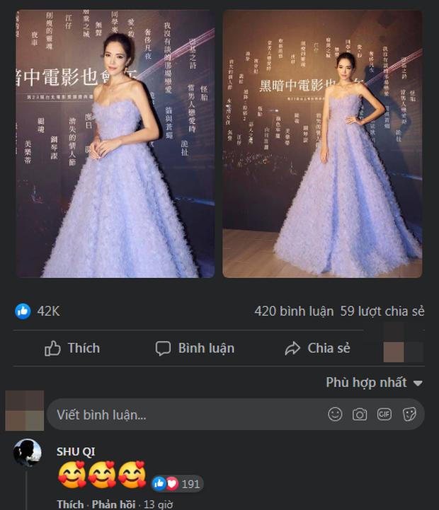 Lâm Tâm Như đăng đàn khi bị chê kém sắc ở liên hoan phim, Thư Kỳ lập tức bình luận 3 chữ bênh vực bà bạn thân - Ảnh 5.