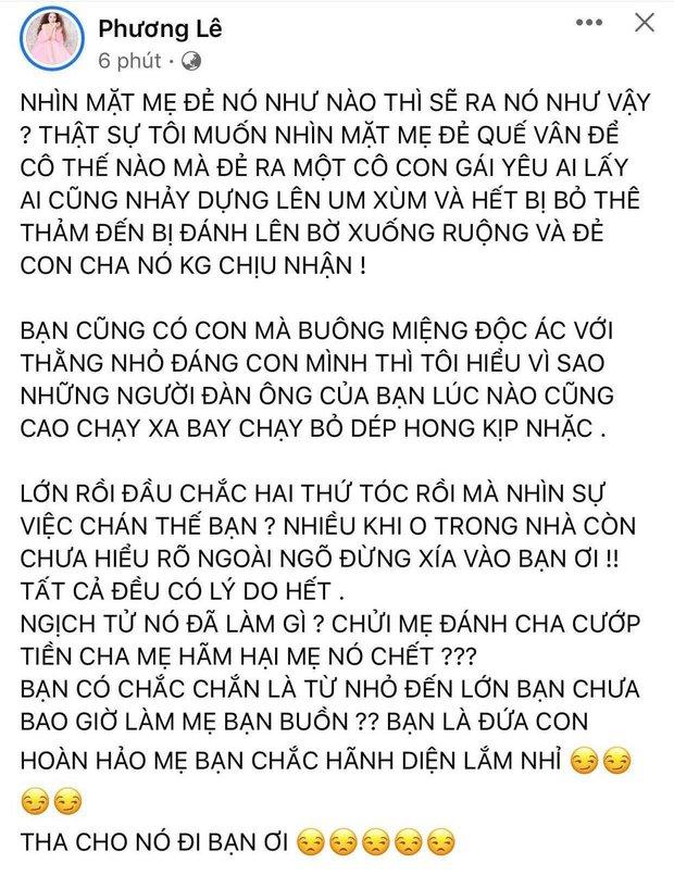 Hoa hậu ở nhà 200 tỷ mắng Quế Vân té tát sau phát ngôn Hồ Văn Cường là nghịch tử: Cũng có con mà miệng ác độc! - Ảnh 2.
