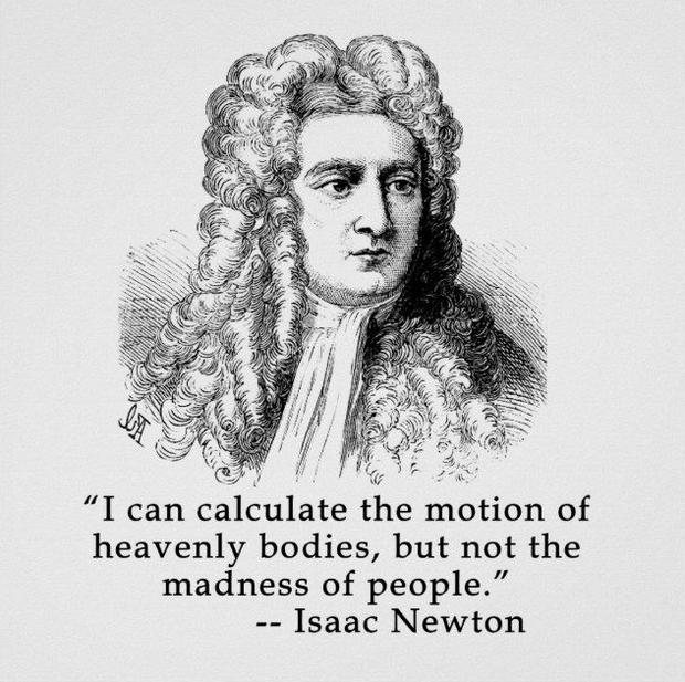 Ngay cả người thông minh nhất thế giới cũng lao đao vì cổ phiếu, có phải IQ càng cao chơi trứng càng dễ thua lỗ? - Ảnh 2.