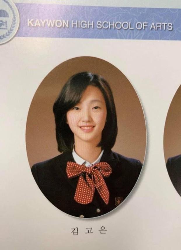 Kim Go Eun gây bão khi diện đồng phục trung học chuẩn nàng thơ, ngó tới visual ảnh thẻ càng đỉnh cao hơn - Ảnh 1.