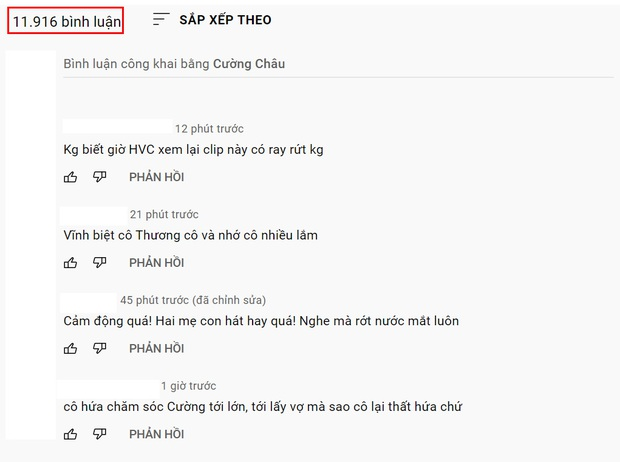 MV nhiều views nhất kênh YouTube cố NS Phi Nhung là sản phẩm đầu tiên cùng Hồ Văn Cường, bình luận gửi lời thương xót tăng hàng giờ - Ảnh 7.