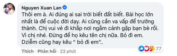 Xuân Lan lên tiếng giữa ồn ào cát-xê Hồ Văn Cường: Ai đúng sai trời đất biết, bài học lớn nhất để cuộc đời dạy - Ảnh 3.