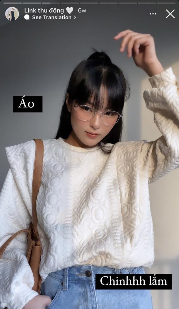 Gái xinh nổ inbox vì mua toàn áo len, đồ cho ngày lạnh đẹp rẻ trên Shopee, còn review luôn chất lượng và share loạt cách mix - Ảnh 9.