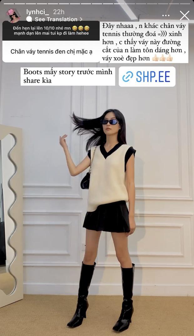 Gái xinh nổ inbox vì mua toàn áo len, đồ cho ngày lạnh đẹp rẻ trên Shopee, còn review luôn chất lượng và share loạt cách mix - Ảnh 11.