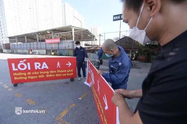 Hà Nội: Bến xe khách tất bật dọn dẹp, lên phương án chuẩn bị hoạt động trở lại - Ảnh 9.