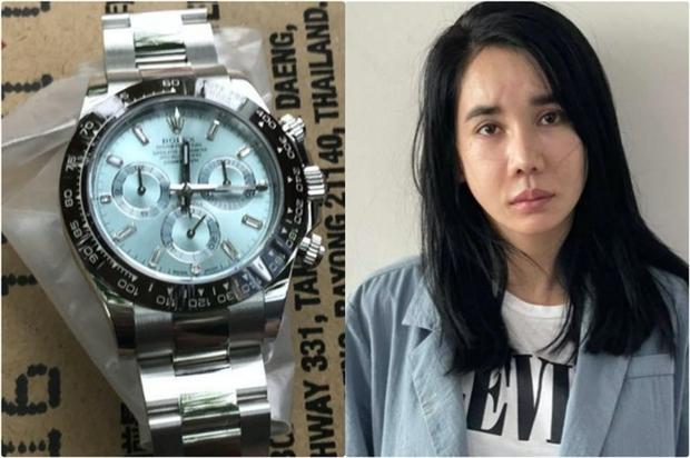 Hoa hậu đặt hàng fake 15 triệu để đánh tráo đồng hồ Rolex 2 tỷ của bạn trai là ai? - Ảnh 1.