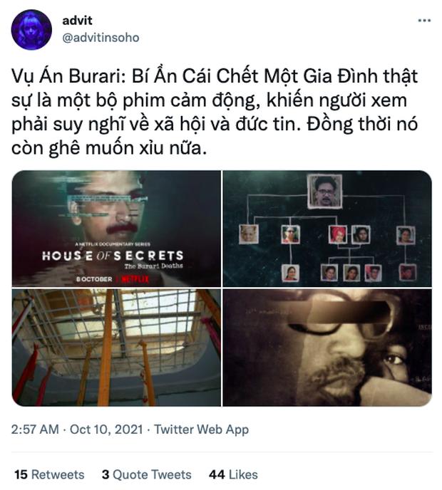 Phim tài liệu về gia đình 11 người treo cổ bí ẩn đang khiến netizen phát cuồng vì rùng rợn: Nổi da gà vì yếu tố tâm linh! - Ảnh 3.