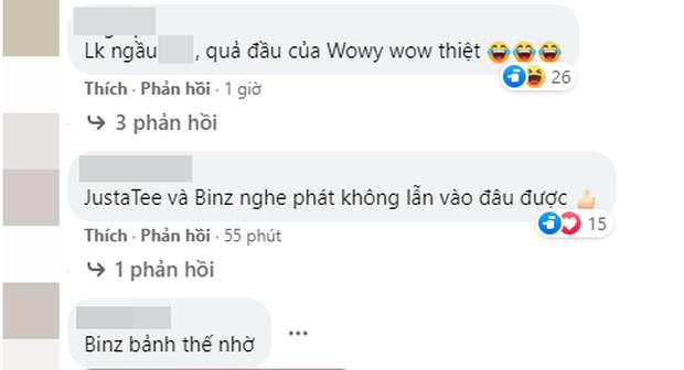 Rap Việt mới chào sân nhưng netizen đã kịp chiến: LK debut thuyết phục, mái tóc của Wowy chiếm hết spotlight của Rhymastic? - Ảnh 10.