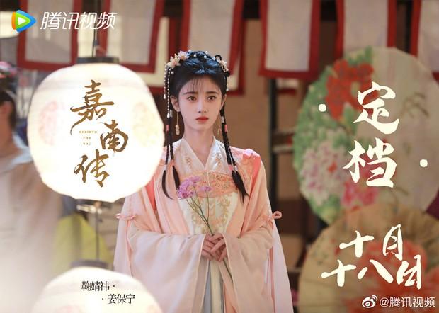 Cúc Tịnh Y bắt chước làm Hàm Hương nhưng thất bại, đội nguyên mâm hoa quả lên đầu cực lố ở trailer phim mới - Ảnh 7.