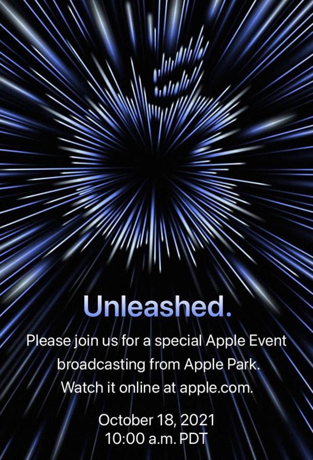 Apple chính thức công bố sự kiện diễn ra vào ngày 18/10, sẽ có điều gì mới? - Ảnh 1.