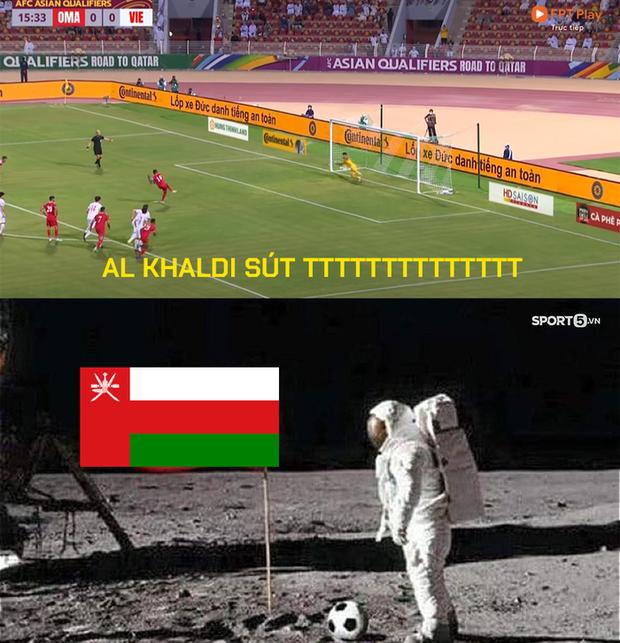 Những hình ảnh troll hài hước về trận đấu căng thẳng giữa ĐT Oman và ĐT Việt Nam - Ảnh 2.