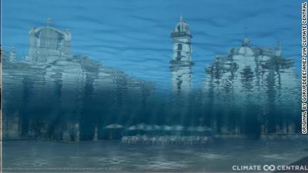 """50 thành phố ven biển trước nguy cơ bị nước biển """"nuốt chửng"""" - Ảnh 1."""