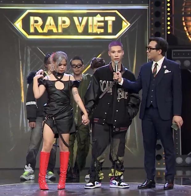 Hành trình tình yêu của MCK - tlinh tại Rap Việt: Bảo vệ nhau trước scandal, đáng chú ý phát ngôn về tương lai của cả 2! - Ảnh 2.