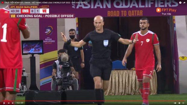 Đội tuyển Việt Nam thua Oman ở trận đấu nhiều VAR nhất lịch sử - Ảnh 4.