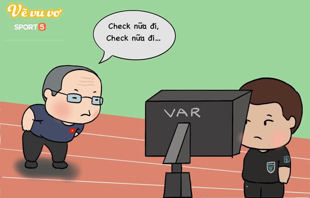 Những hình ảnh troll hài hước về trận đấu căng thẳng giữa ĐT Oman và ĐT Việt Nam - Ảnh 5.