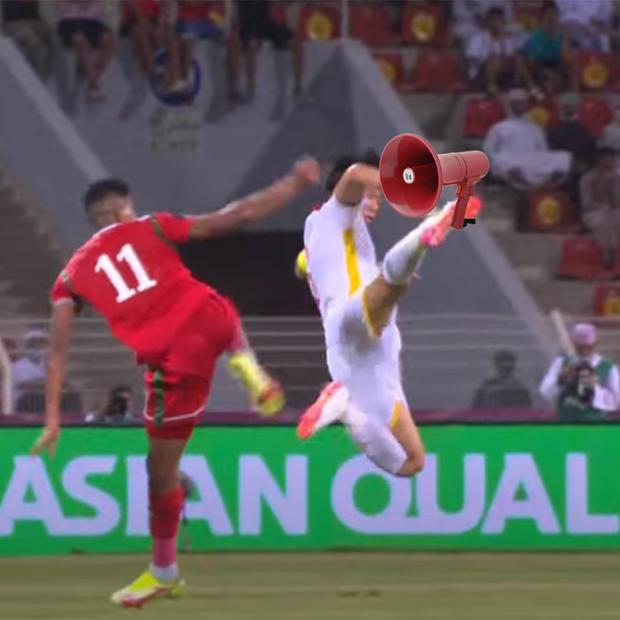 Những hình ảnh troll hài hước về trận đấu căng thẳng giữa ĐT Oman và ĐT Việt Nam - Ảnh 7.