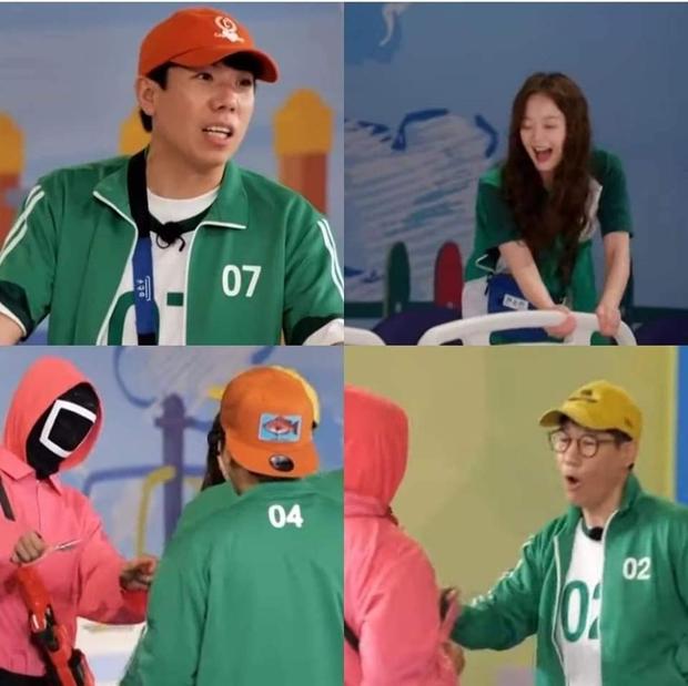 Running Man bắt trend chơi Squid Game, trùm cuối liệu có phải... Lee Kwang Soo? - Ảnh 1.