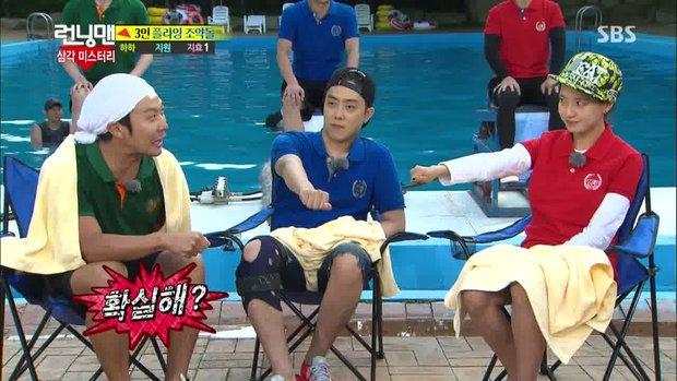 Running Man bắt trend chơi Squid Game, trùm cuối liệu có phải... Lee Kwang Soo? - Ảnh 8.