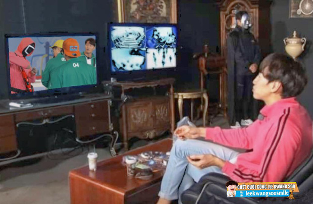 Running Man bắt trend chơi Squid Game, trùm cuối liệu có phải... Lee Kwang Soo? - Ảnh 9.