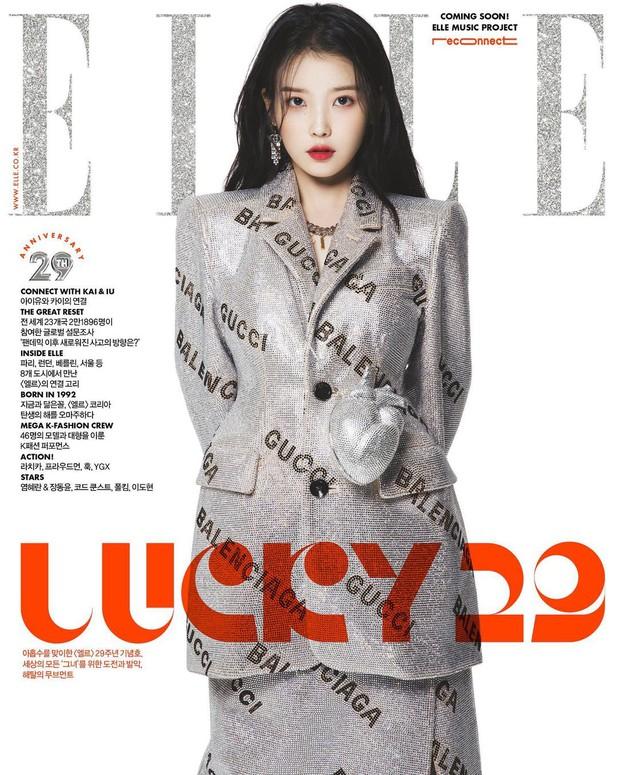 Cặp đôi đại sứ Gucci Kai (EXO) - IU đại náo tạp chí: Đứng cạnh bị chê sượng trân, tách ra phát bùng nổ visual chảnh sả hẳn - Ảnh 3.