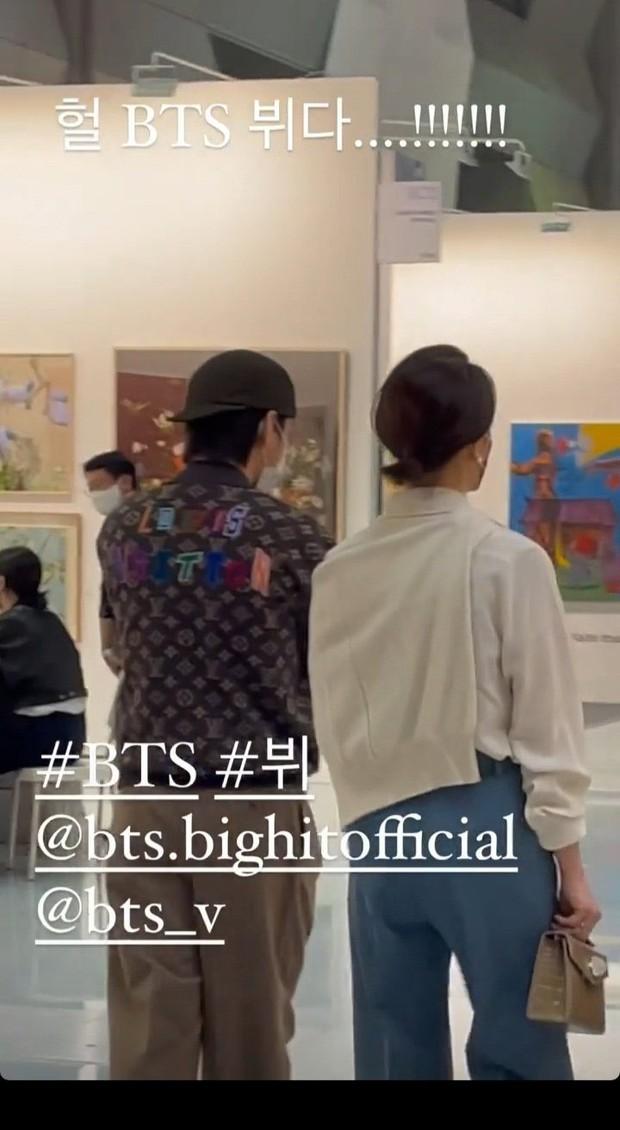 HOT: Nam thần V (BTS) bị tóm sống ảnh hẹn hò con gái chủ tịch tập đoàn khủng nhất nhì Hàn Quốc, HYPE phản ứng bất ngờ - Ảnh 3.