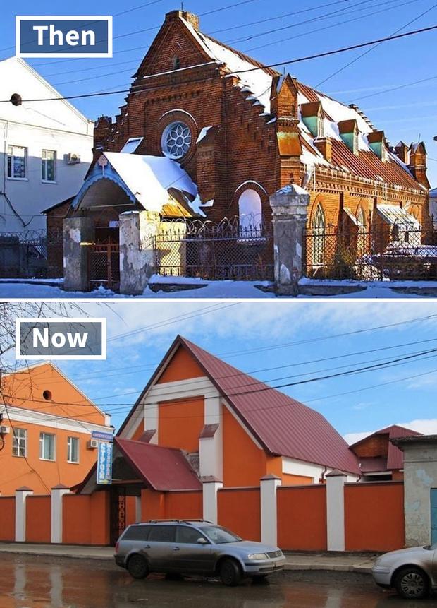 20 ngôi nhà cổ được cải tạo sau những thăng trầm thời gian, nhưng chẳng hiểu sao còn xấu hơn ban đầu - Ảnh 7.