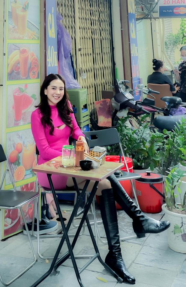 MC Mai Ngọc kể chuyện đi ăn bún ngan được khen lên đồ như người nước ngoài, dân mạng lại chỉ chú ý vào đôi chân dài 2 mét - Ảnh 5.