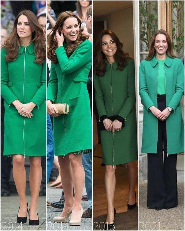 Kate Middleton - Công nương danh giá bậc nhất Hoàng gia vẫn mặc đi mặc lại 1 mẫu áo khoác trong suốt 7 năm - Ảnh 1.