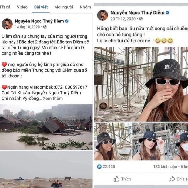 Netizen khui vợ chồng Thuý Diễm xây nhà sau 2 tháng kêu gọi từ thiện giữa ồn ào nhưng thực hư thế nào? - Ảnh 1.