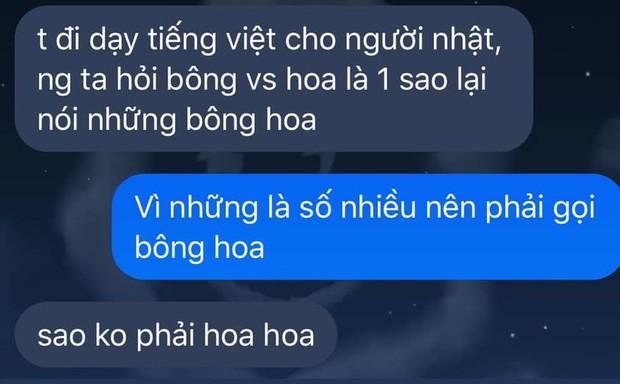 Nam sinh đi dạy Tiếng Việt bị hỏi khó: Bông với hoa là một, sao lại gọi những bông hoa?, nhận về câu trả lời tức anh ách - Ảnh 1.