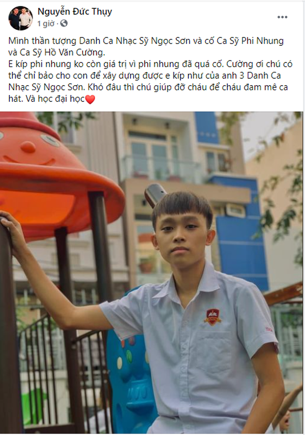 Bầu Thụy - người giàu thứ 9 trên sàn chứng khoán Việt Nam ngỏ ý đỡ đầu Hồ Văn Cường: Khó đâu thì chú giúp đỡ cháu để cháu đam mê ca hát và học đại học - Ảnh 2.