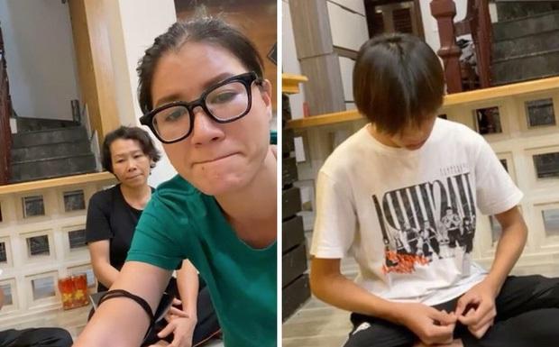 Hồ Văn Cường chỉ mặc 1 chiếc áo trong suốt 10 ngày từ dự lễ cầu siêu, nhận tiền cát-xê đến đi ra ngân hàng - Ảnh 4.