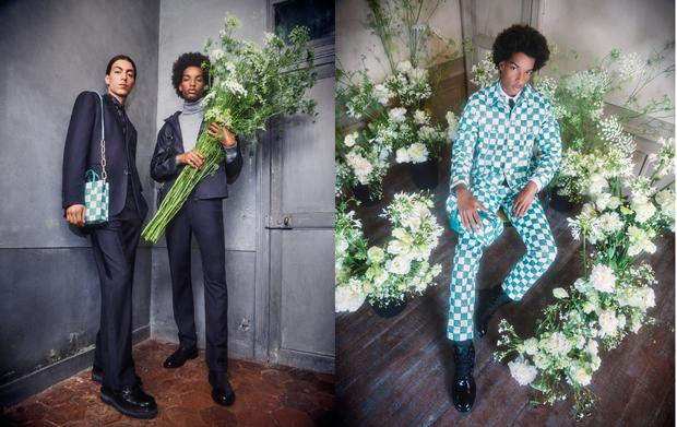BST Louis Vuitton Mùa Thu 2021: Cảm hứng thời trang mạnh mẽ đến từ tấm thiệp hơn 100 năm trước - Ảnh 1.