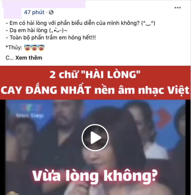 Đứng trước Diva Thanh Lam, thí sinh trả lời về 2 chữ hài lòng và nhận cái kết đắng ngắt - Ảnh 5.