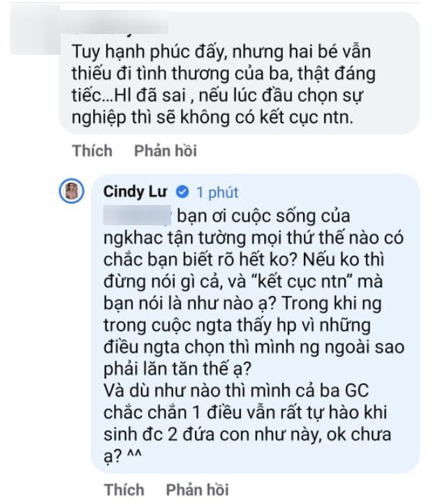 Netizen tiếc vì Hoài Lâm chọn tình yêu bỏ bê sự nghiệp, để 2 con nay thiếu tình thương của cha: Cindy Lư lên tiếng! - Ảnh 2.