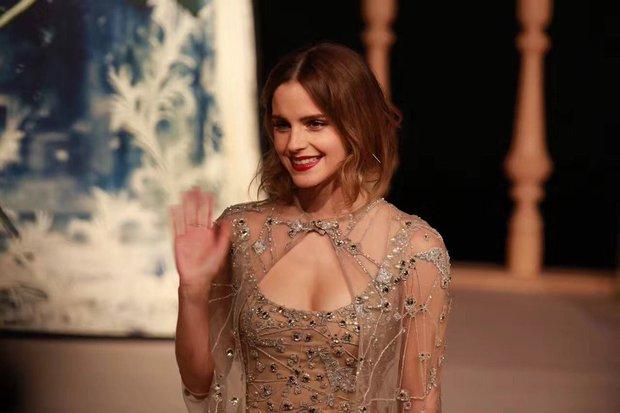 Năm 2017 Emma Watson có 1 thảm đỏ huyền thoại ở Trung Quốc: Đẹp nức nở tựa công chúa, đến mức ảnh chụp lướt mỗi năm đều gây bão MXH - Ảnh 2.