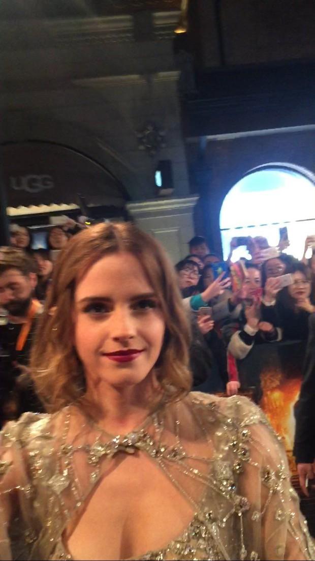 Năm 2017 Emma Watson có 1 thảm đỏ huyền thoại ở Trung Quốc: Đẹp nức nở tựa công chúa, đến mức ảnh chụp lướt mỗi năm đều gây bão MXH - Ảnh 14.