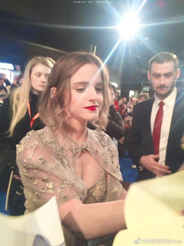 Năm 2017 Emma Watson có 1 thảm đỏ huyền thoại ở Trung Quốc: Đẹp nức nở tựa công chúa, đến mức ảnh chụp lướt mỗi năm đều gây bão MXH - Ảnh 12.