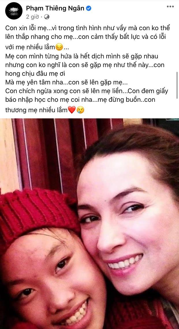 Con nuôi Phi Nhung bất lực xin lỗi vì không thể thắp nhang cho mẹ, xót xa lời hứa mãi không thành! - Ảnh 2.