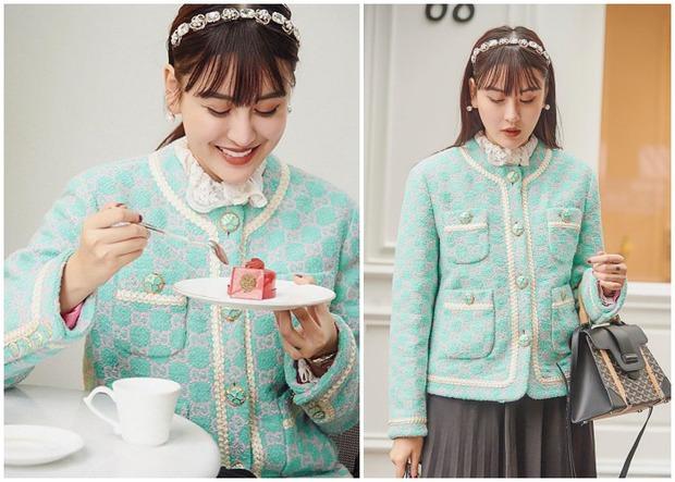 1 chiếc bàn - 2 phong cách: Các cô sao Việt đi thưởng trà lên đồ có gì khác mấy cô sao Hàn? - Ảnh 5.