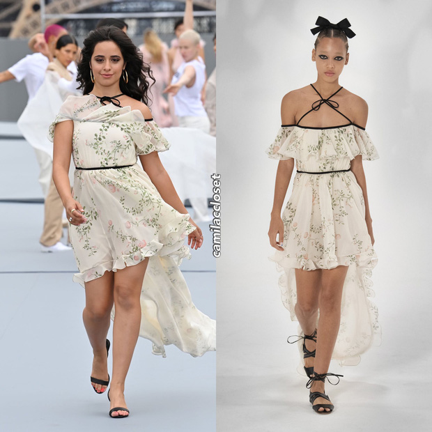 Camila Cabello lật bàn cực mạnh tại Paris Fashion Week, nhan sắc ú oà thế này ai lường nổi? - Ảnh 5.