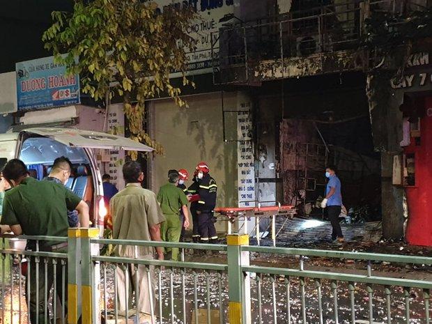 TP.HCM: 2 căn nhà mặt phố bị cháy dữ dội, 1 người tử vong tại chỗ - Ảnh 2.