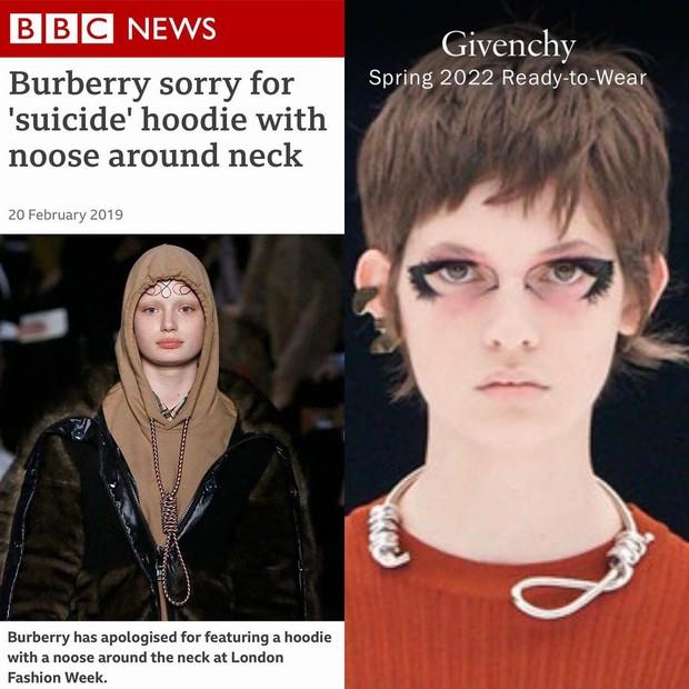 Chi tiết rùng mình khiến hãng Givenchy bị lên án ở Fashion Week và đây không phải là lần đầu có hiện tượng này - Ảnh 4.