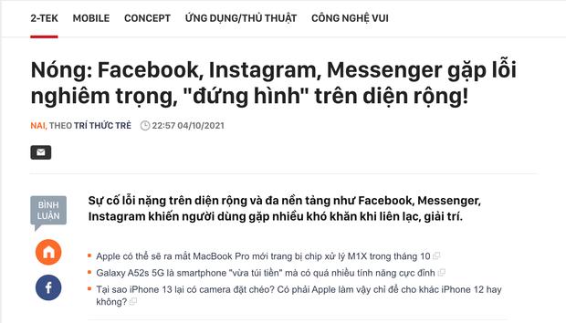 Tôi làm gì trong gần 1 tiếng đồng hồ mà cả Facebook, Instagram, Messenger đều bị sập? - Ảnh 7.