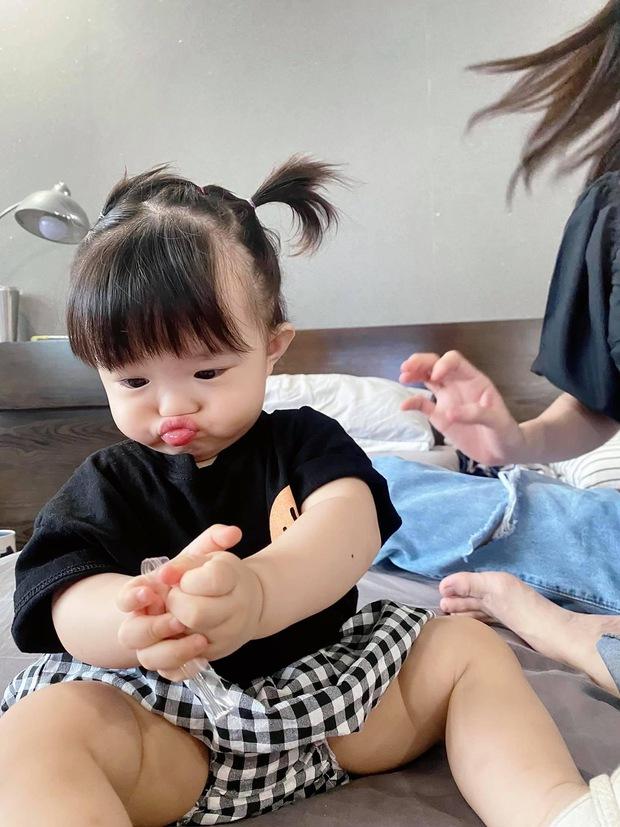 Ngắm vitamin dễ thương tối đầu tuần của 2 mẹ bỉm hào môn Đông Nhi và Đàm Thu Trang: Các mẹ ơi, mau đẻ ngay 1 tiểu công chúa! - Ảnh 4.