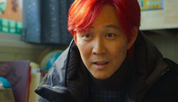 Bí mật đằng sau mái tóc đỏ trong Squid Game đã được hé lộ, thực sự khác xa suy đoán của netizen - Ảnh 2.