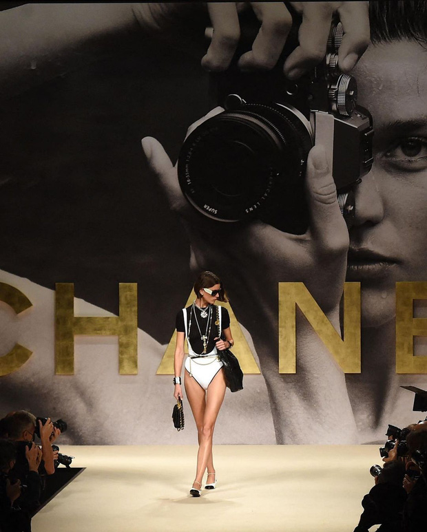 Chanel là thương hiệu duy nhất thực hiện điều này tại Fashion Week năm nay - Ảnh 6.