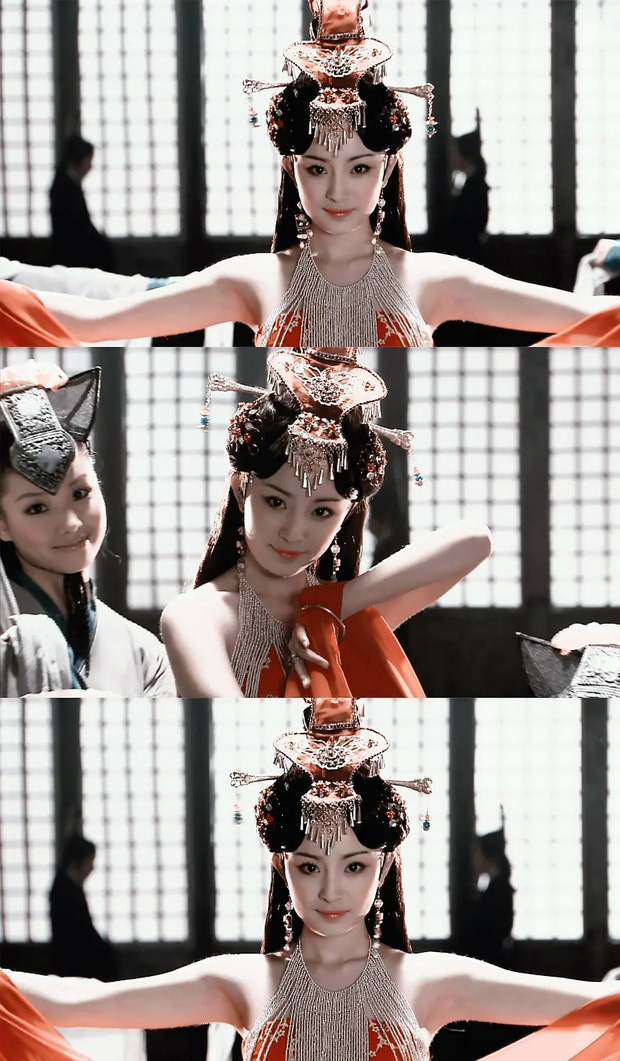 Dương Mịch năm 19 tuổi đẹp tới mức nào? Visual thuở chưa dao kéo đẹp kinh diễm, lịm tim với khoảnh khắc đóng Vương Chiêu Quân - Ảnh 2.